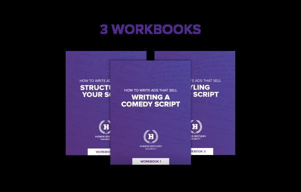 3 Workbooks